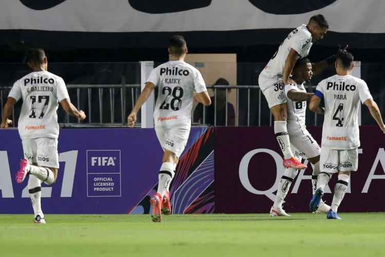 Libertadores: Santos se recupera e vence a primeira na fase de grupos (Foto: )