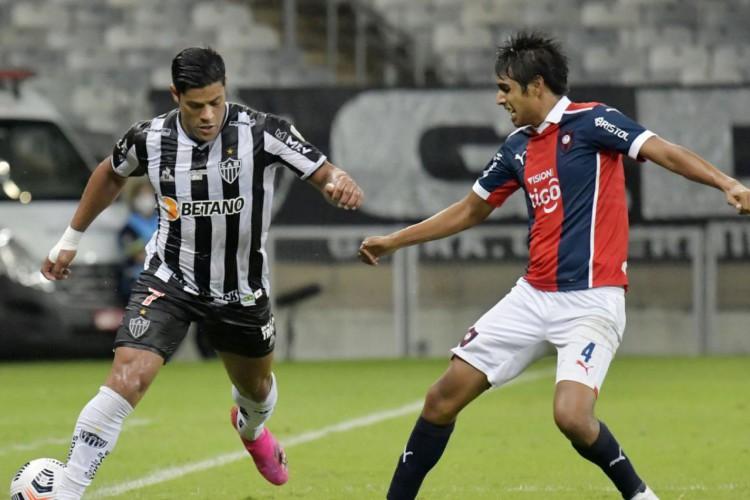 Com show de Hulk, Atlético-MG goleia na Libertadores (Foto: )