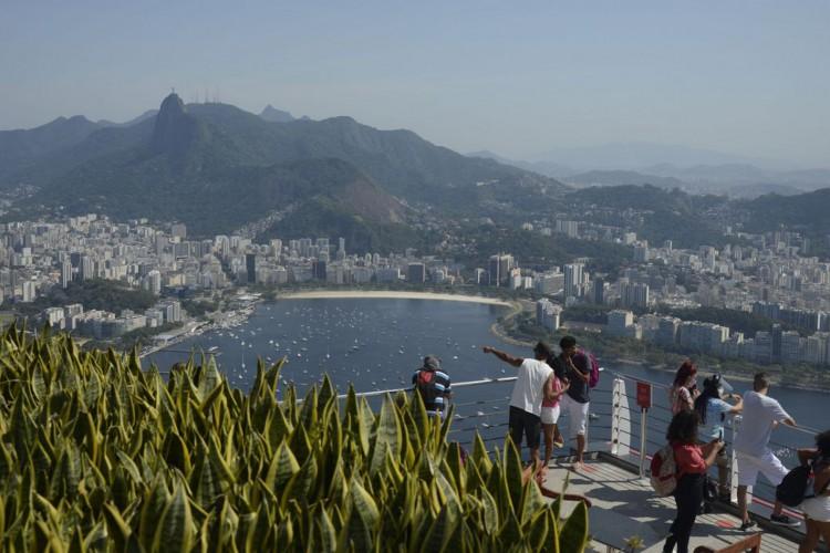 O Bondinho do Pão de Açúcar volta a receber visitantes a partir deste sábado com novas regras  sanitárias (Foto: Tânia Rêgo/Agência Brasil)