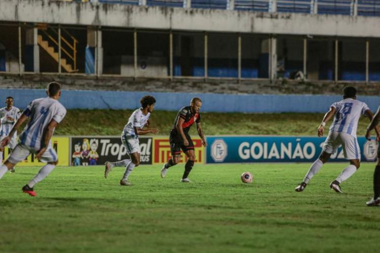 Grêmio Anápolis bate Atlético-GO e sai na frente pela semi do Goiano (Foto: )