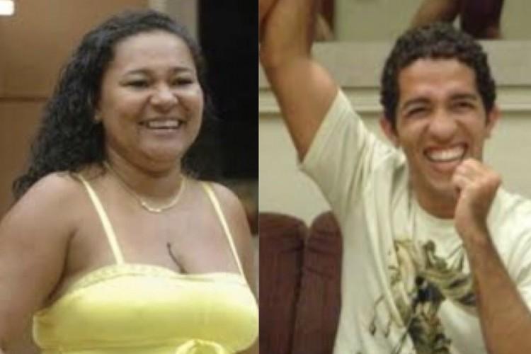 Ambos da Bahia, Jean Wyllys e Mara Viana se destacaram em edições do BBB e conquistaram o maior prêmio do programa (Foto: Reprodução/Rede Globo)