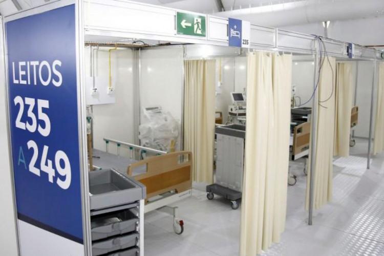 Inauguração do..primeiro hospital de campanha da rede estadual...Foto: Mauricio Bazilio (Foto: Mauricio Bazilio/Governo do Rio de Janeiro)