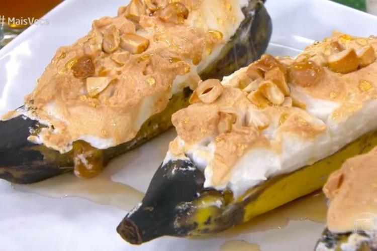 Receita de Bananas recheadas (Foto: Reprodução/ Rede Globo)