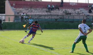 Fortaleza disputa jogo diante do Pacajus no estádio Ronaldão pelo Campeonato Cearense 2021.