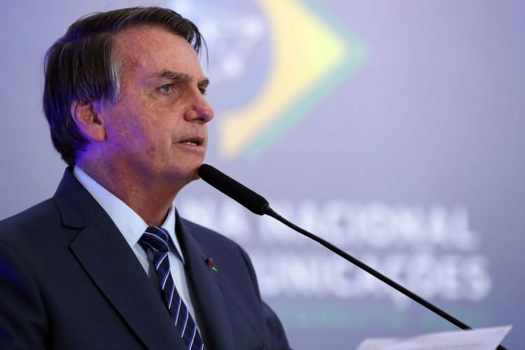 Jair Bolsonaro veta o projeto integralmente (Foto: Marcos Corrêa/PR)
