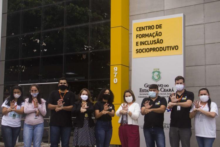 Presencialmente, os serviços podem ser solicitados no bairro Papicu, em Fortaleza. (Foto: Divulgação/Governo do Ceará)