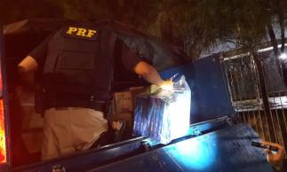 Um total de 175 mil carteiras de cigarro ilegais foi apreendido em Quixadá