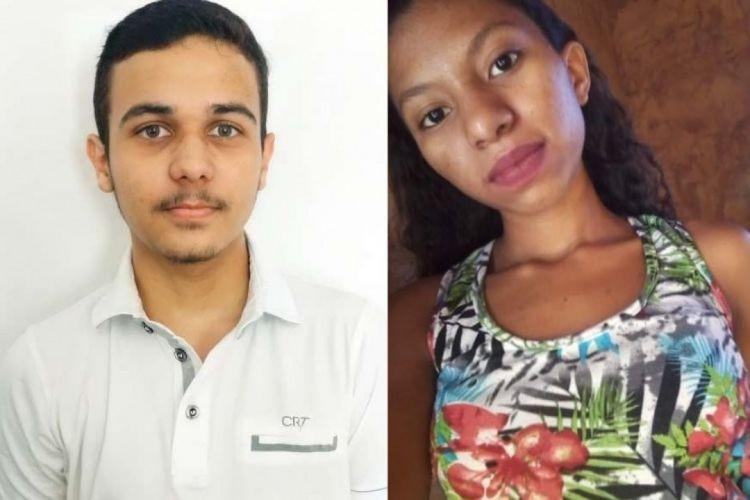 Davi Muniz e Angélica Soares tiveram ótimas notas no Enem  (Foto: Portal Seduc e Facebook/Reprodução)