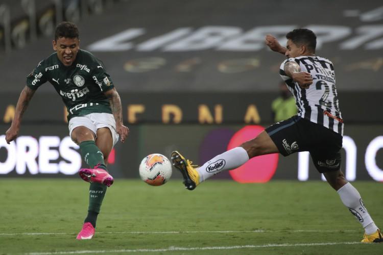 Palmeiras e Santos jogam hoje pelo Paulista 2021; confira onde assistir ao vivo à transmissão do jogo na TV e online e a provável escalação de cada time (Foto: Divulgação / Conmebol)