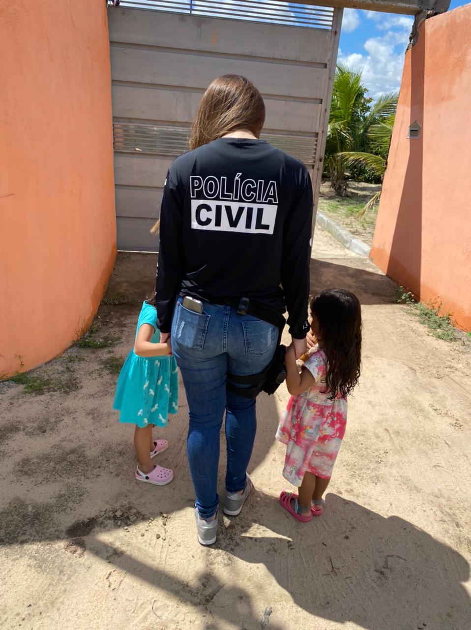 As crianças foram localizadas na cidade de Senhor do Bonfim, na Bahia. O pai foi preso
