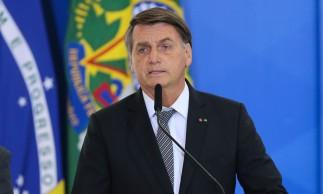 Presidente da República, Jair Bolsonaro, participa da cerimônia de cumprimento aos Oficiais Generais promovidos