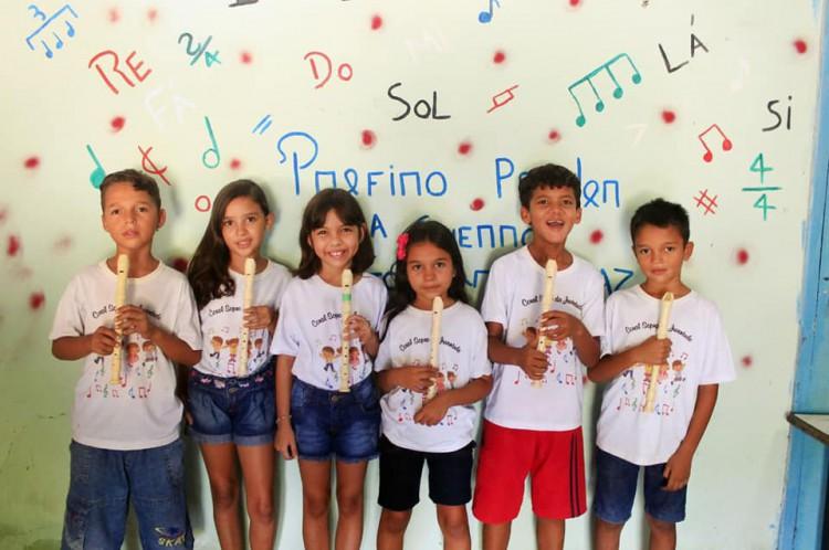 O CEPEVIVE trabalha com a Educação de crianças por meio da música e despertar da   consciência socioambiental. O IFMM esteve em sua sede na entrega de doações de alimentos da Gincana Podia ser sempre assim