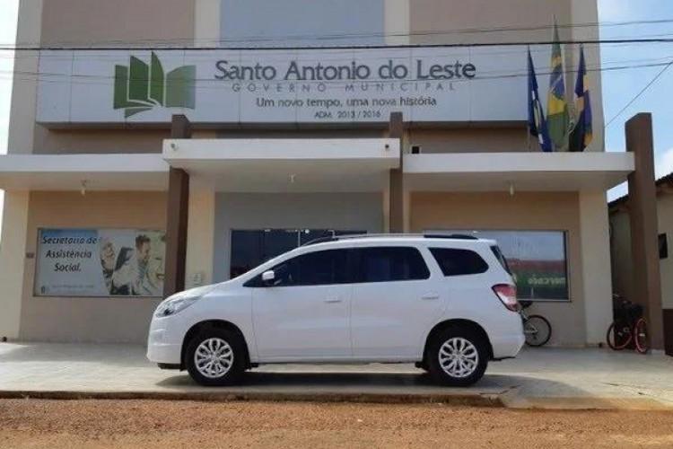 Prefeitura de Santo Antônio do Leste (Foto: Divulgação/Prefeitura de Santo Antônio do Leste)