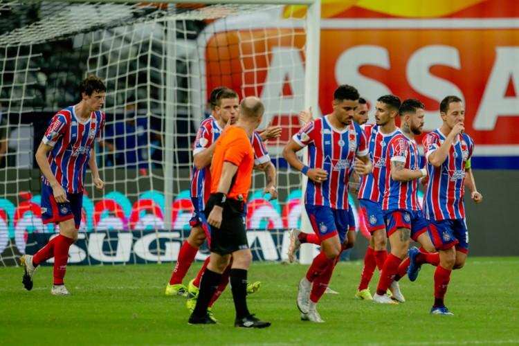 Bahia e Guabirá duelam hoje pela Sul-Americana 2021; veja onde assistir ao vivo à transmissão do jogo (Foto: AURÉLIO ALVES/O POVO)