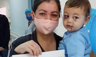 O menino de 1 ano e 8 meses foi o único sobrevivente do ataque a creche que matou 3 crianças e duas professoras em Santa Catarina