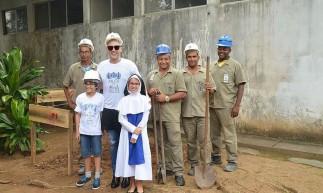 Paulo Gustavo contribuía com doações para as Obras Sociais Irmã Dulce, em Salvador. Na imagem, uma das visitas do ator à entidade, na capital baiana