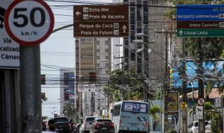 Mudança de Velocidade nas vias de Fortaleza, av. Antônio Sales passa a ter velocidade máxima de 50km/h