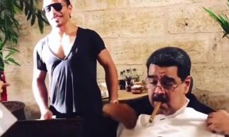 Nicolás Maduro causou polêmica ao aparecer comendo em restaurante de luxo enquanto seu País sofre com a fome