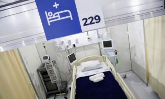 Inauguração do..primeiro hospital de campanha da rede estadual...Foto: Mauricio Bazilio