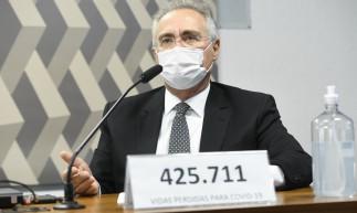 CPI da Covid: Renan Calheiros retira seu nome e coloca número de mortes por Covid no Brasil