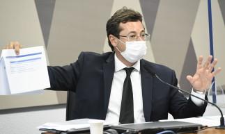 Em CPI, Wajngarten contradiz própria fala sobre Pazuello em entrevista a Veja