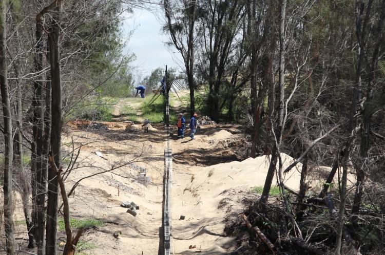 Denúncia de desmatamento ilegal em área protegida para construção de empreendimento imobiliário do complexo Nova Galé no Cumbuco
