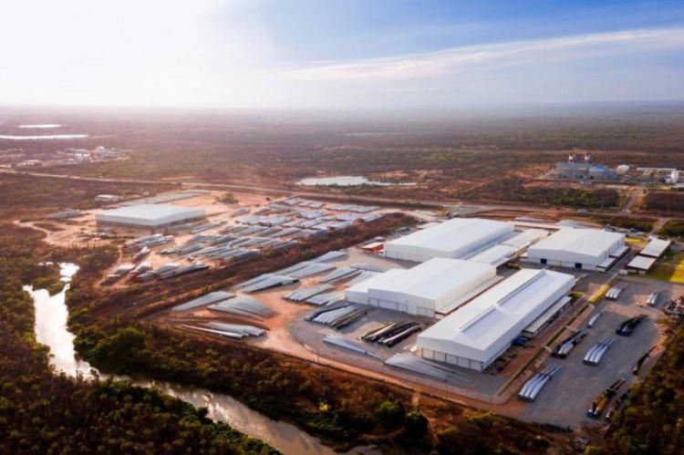 Fábrica da Aeris Energy no Complexo do Pecém(Foto: Divulgação)