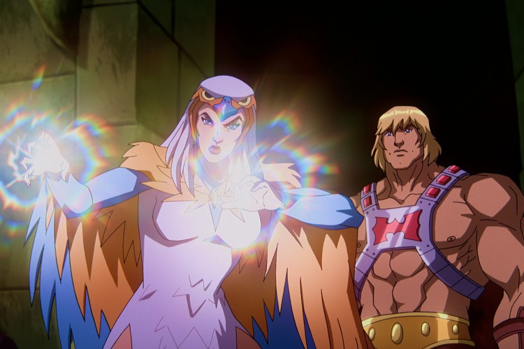 Nova séries sobre He-Man estará disponível em julho, na Netflix (Foto: Reprodução/ Twitter @NetflixBrasil)
