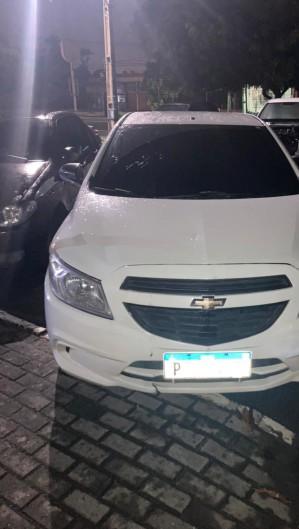 O veículo foi encontrado com a gerente do banco (Foto: Foto: Polícia Civil do Ceará)