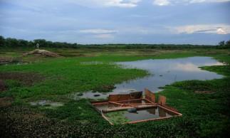 Crateús - A Barragem do Batalhão é um dos reservatórios que abastecem a cidade  (Fernando Frazão/Agência Brasil)
