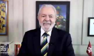 A TV americana, o ex-presidente Lula diz estar pronto para disputar eleições de 2022