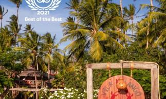 Vila Kalango listado entre melhores hotéis do mundo