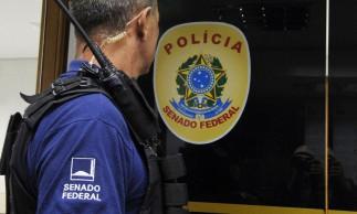 Polícia Legislativa do Senado Federal..Foto: Edilson Rodrigues/Agência Senado.