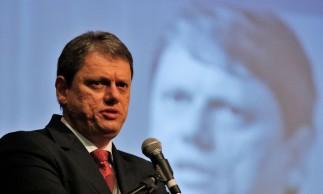 O ministro da Infraestrutura, Tarcísio de Freitas, participa da 2ª .Conferência Anual CEBRI - BNDES
