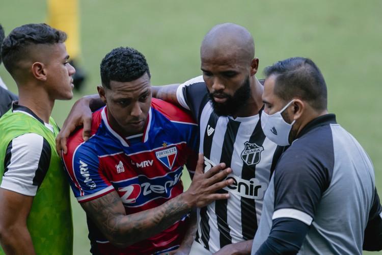 Clássico-Rei não tem público desde a segunda fase do Campeonato Cearense de 2020 (Foto: Aurelio Alves)