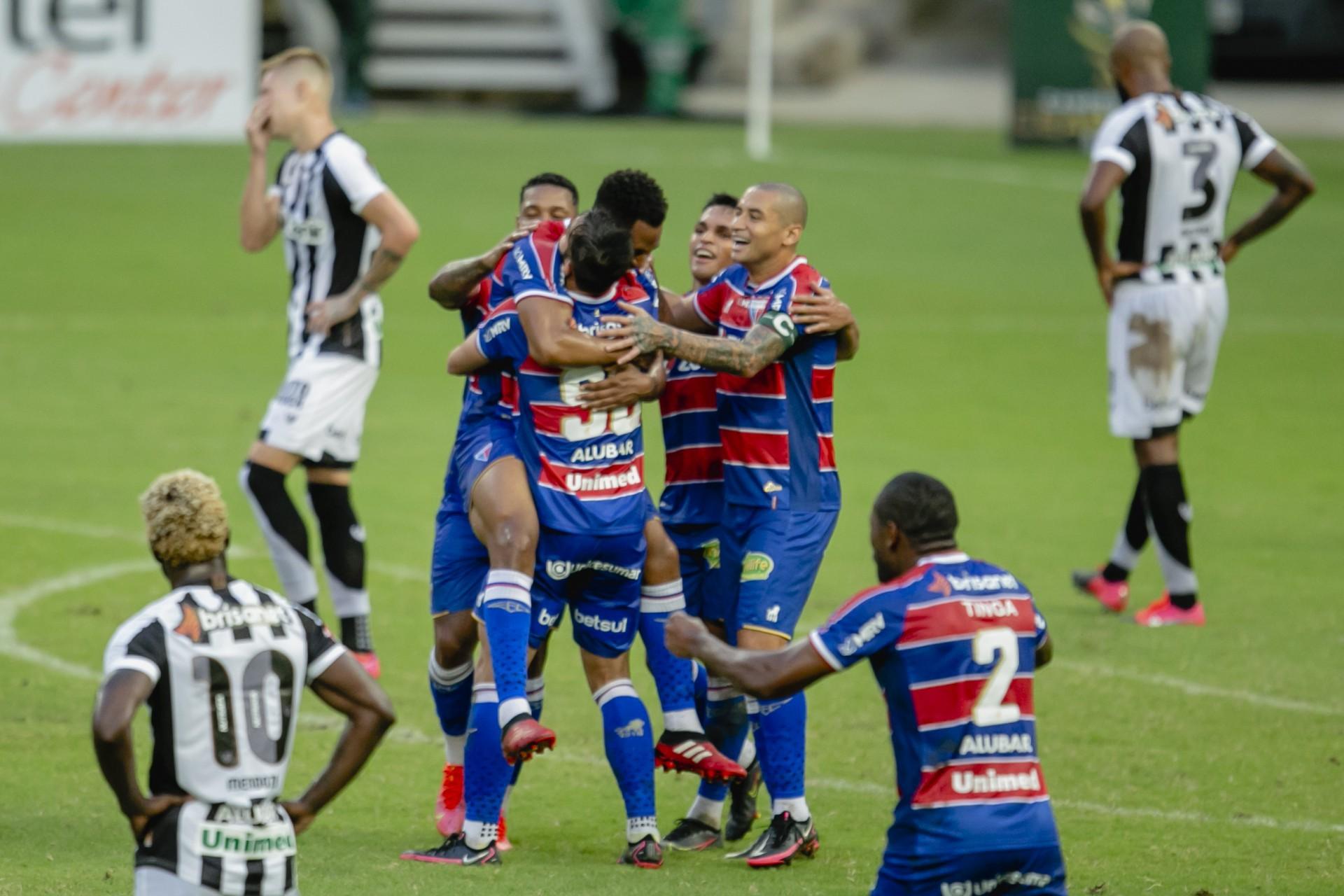 Fortaleza venceu com sobras o rival Ceará no último Clássico-Rei