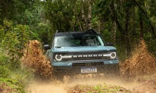 A Ford já havia confirmado maio como o mês de chegada do Bronco, o novo SUV da marca, ao Brasil
