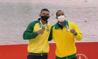 Canoagem: Isaquias Queiroz e Jacky Godmann são bronze na Copa do Mundo