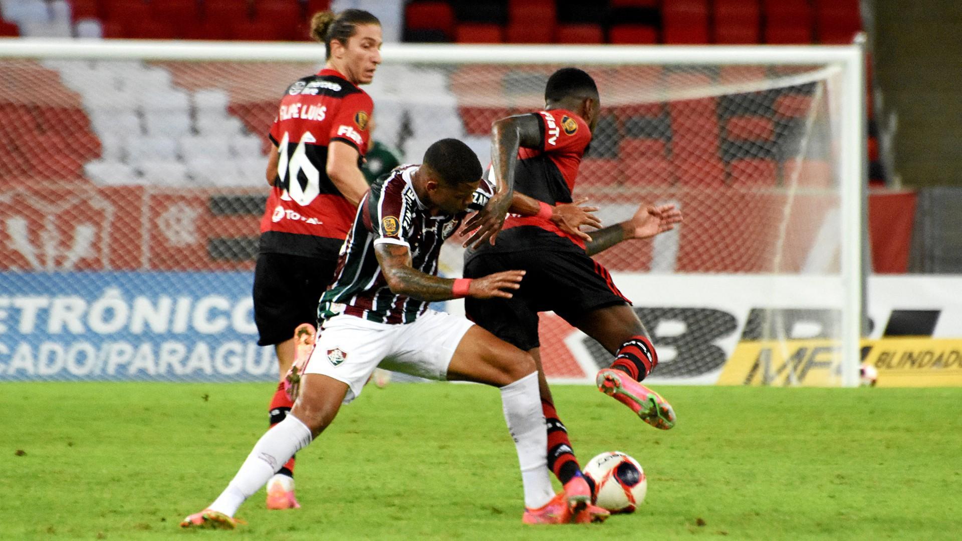Fluminense e Flamengo empataram por 1 a 1 na primeira partida da final do Campeonato Carioca