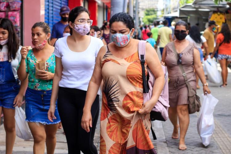Medidas de flexibilização ou restrição do isolamento social dependem de indicadores da pandemia. (Foto: BARBARA MOIRA)