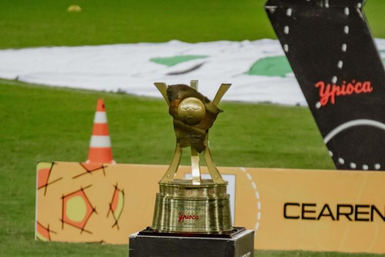Segunda fase do Campeonato Cearense 2021 é a mais goleadora do que as duas últimas edições (Foto: Júlio Caesar / O POVO)