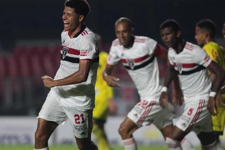 São Paulo bateu o Mirassol e está na final do Paulistão (Foto: Rubens Chiri / São Paulo FC)