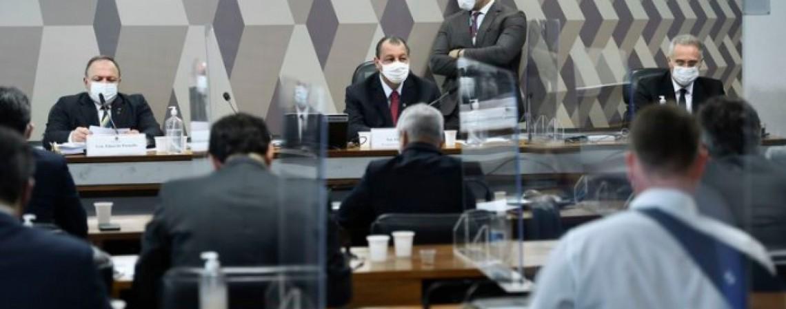 CPI da Covid irá interrogar governadores  (Foto: AGÊNCIA BRASIL)