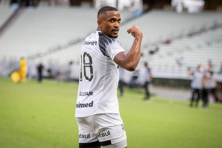 Saulo Mineiro é goleador do Ceará na temporada 2021  (Foto: Fernando Ferreira / Ceará SC)