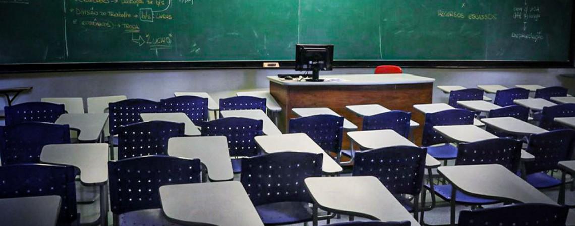 Sala de aula. (Foto: Arquivo)