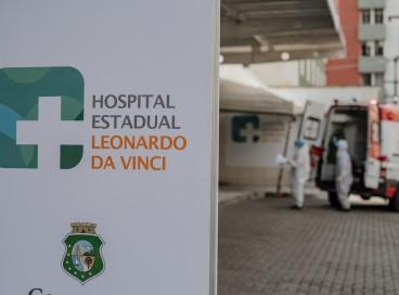 Hospital Leonardo da Vinci é referência para Covid-19: sistema tem apresentado menores patamares em ocupação de UTI