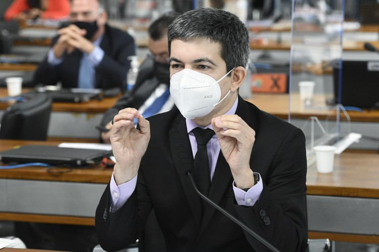 Randolfe Rodrigues é o vice-presidente da CPI da Covid no Senado(Foto: Jefferson Rudy/Agência Senado)