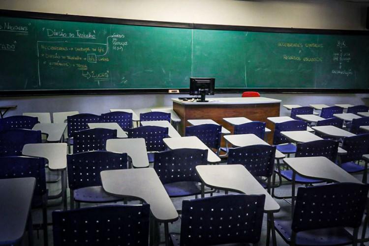 Educação no Brasil. Salas de aula. (Foto: Arquivo)