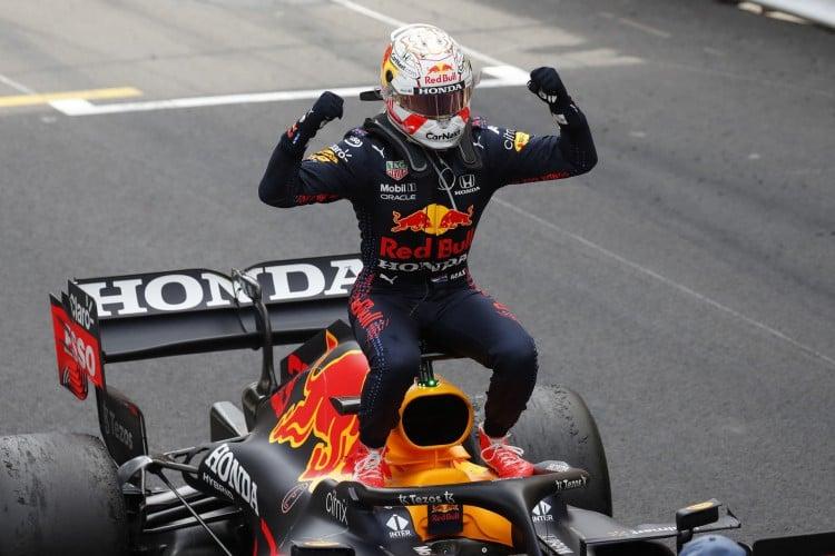 O piloto holandês da Red Bull, Max Verstappen, venceu o Grande Prêmio da França de Fórmula 1 (Foto: GONZALO FUENTES / POOL / AFP)