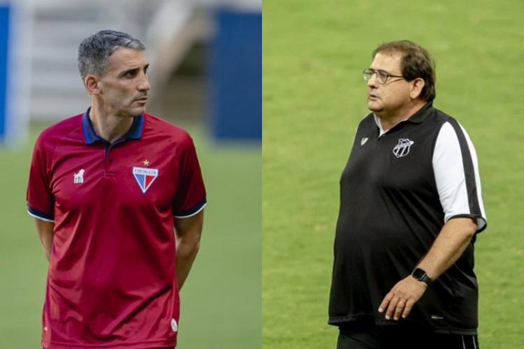 Em menos de um mês, Vojvoda e Guto se enfrentam pela terceira vez na temporada (Foto: Aurélio Alves/O POVO)